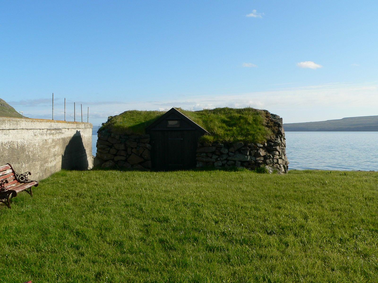 Grønt hus på Færøerne